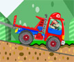Play Mario Truck Ride online