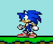 Sonic in Mario Planet